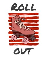 Roller Derby Roll Out Fine Art Print