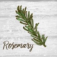 Rosemary on Wood Fine Art Print