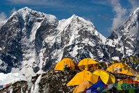 Base Camp, Mt Everest, Nepal Fine Art Print