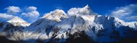 Everest & Nuptse Sagamartha National Park Nepal Fine Art Print