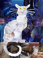 Le Chat Blanc Fine Art Print