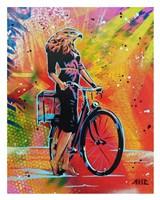Cycle Soaring Fine Art Print