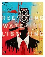 NSA Camera Man Fine Art Print