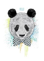 Hello Panda Fine Art Print