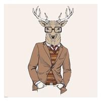 Deer-man 1 Fine Art Print