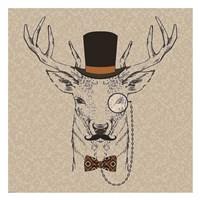 Deer-man 2 Fine Art Print