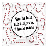Santa's Helpers - Wine Fine Art Print