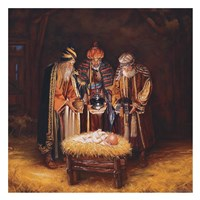Three Wisemen Fine Art Print