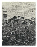 New York News Fine Art Print