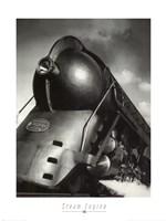 Steam Engine 1940 Fine Art Print