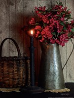 Basket and Blossoms Fine Art Print