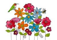 Addison's Garden Fine Art Print