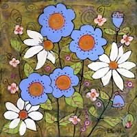 Amelia's Garden Fine Art Print