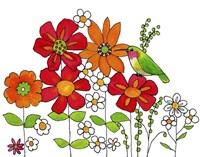 Ella's Garden Fine Art Print
