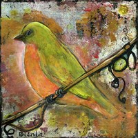 Peridot Bird Fine Art Print