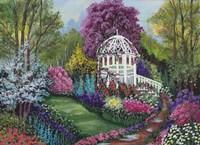 Paradise Garden Fine Art Print