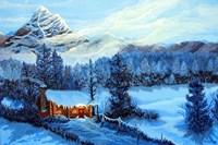 Cozy Cabin Fine Art Print