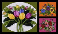 Flower Collage Fine Art Print
