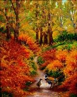 Pheasant Road Fine Art Print