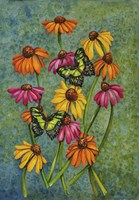 Monarchs & Sunflowers Fine Art Print