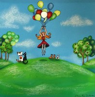 Balloon Therapy Fine Art Print