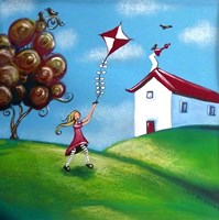 Go Fly a Kite Fine Art Print