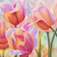 Tulips in Wonderland II Fine Art Print