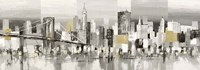 Manhattan & Brooklyn Bridge Fine Art Print