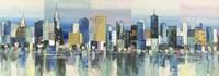 Manhattan Aqua Fine Art Print