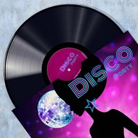 Vinyl Club, Disco Fine Art Print