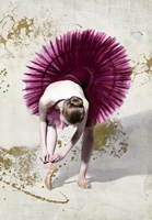 Purple Ballerina Fine Art Print