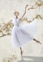 White Ballerina Fine Art Print
