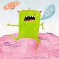 Alien Friend #1 Fine Art Print