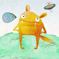 Alien Friend #4 Fine Art Print