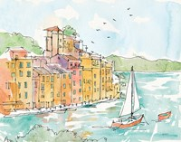 Portofino II Fine Art Print