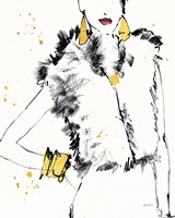 Fashion Strokes IV Fine Art Print