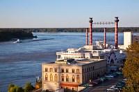 Mississippi, Ameristar Casino, Mississippi River Fine Art Print