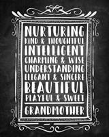 Grandma - Chalkboard Fine Art Print