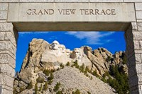 Grand View Terrace, Mount Rushmore Fine Art Print
