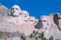 Mount Rushmore, South Dakota Fine Art Print