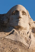 South Dakota, Mount Rushmore, George Washington Fine Art Print