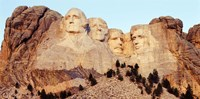 View of Mount Rushmore, South Dakota Fine Art Print