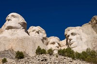 Mount Rushmore, Keystone, Black Hills, South Dakota Fine Art Print