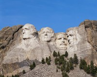 Mount Rushmore National Monument, South Dakota Fine Art Print