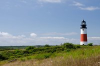 Massachusetts, Nantucket, Sankaty lighthouse Fine Art Print
