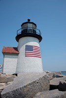 Nantucket Brant Point lighthouse Fine Art Print
