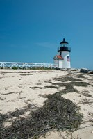 Nantucket Brant Point lighthouse, Massachusetts Fine Art Print