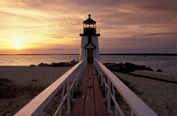 Brant Point Lighthouse, Nantucket, Massachusetts Fine Art Print