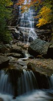 Waterfall in a forest, Arethusa Falls, Crawford Notch State Park, New Hampshire, New England Fine Art Print