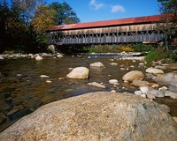 Albany Covered Bridge, White Mountain National Forest, New Hampshire Fine Art Print